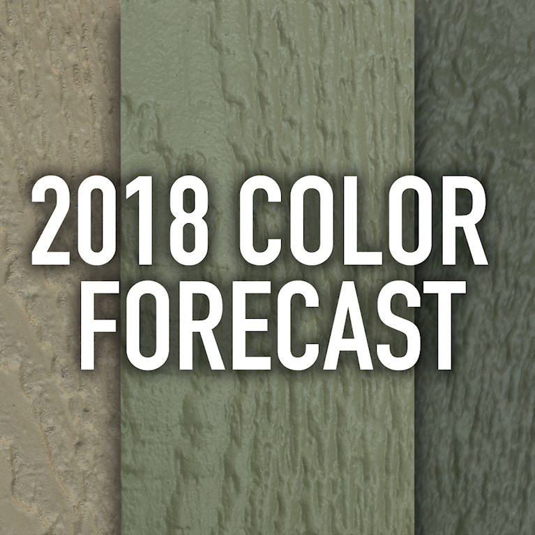 The 2018 Color Forecast Announced