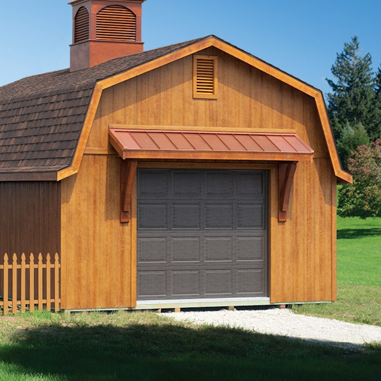 ONE-DAY GARAGES, BUILT TWO WAYS.