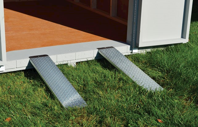 Portable Metal Ramps