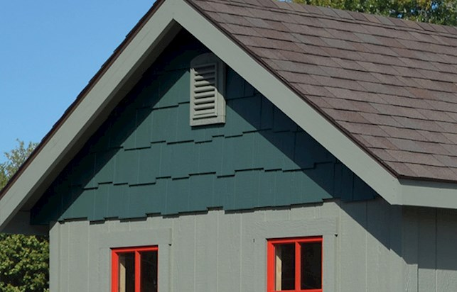 gable end shakes