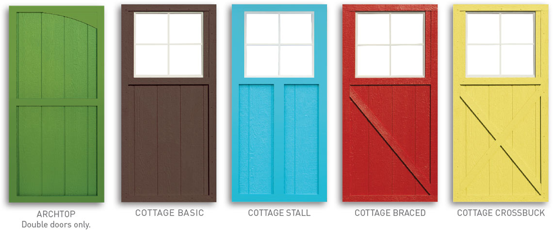 Crossbuck door click image for larger version name for 9 lite crossbuck exterior door